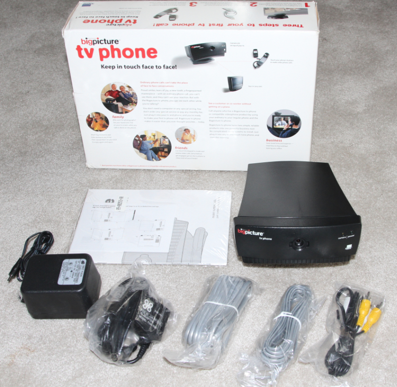 3Com bigpicture TV digital camera phone kit
