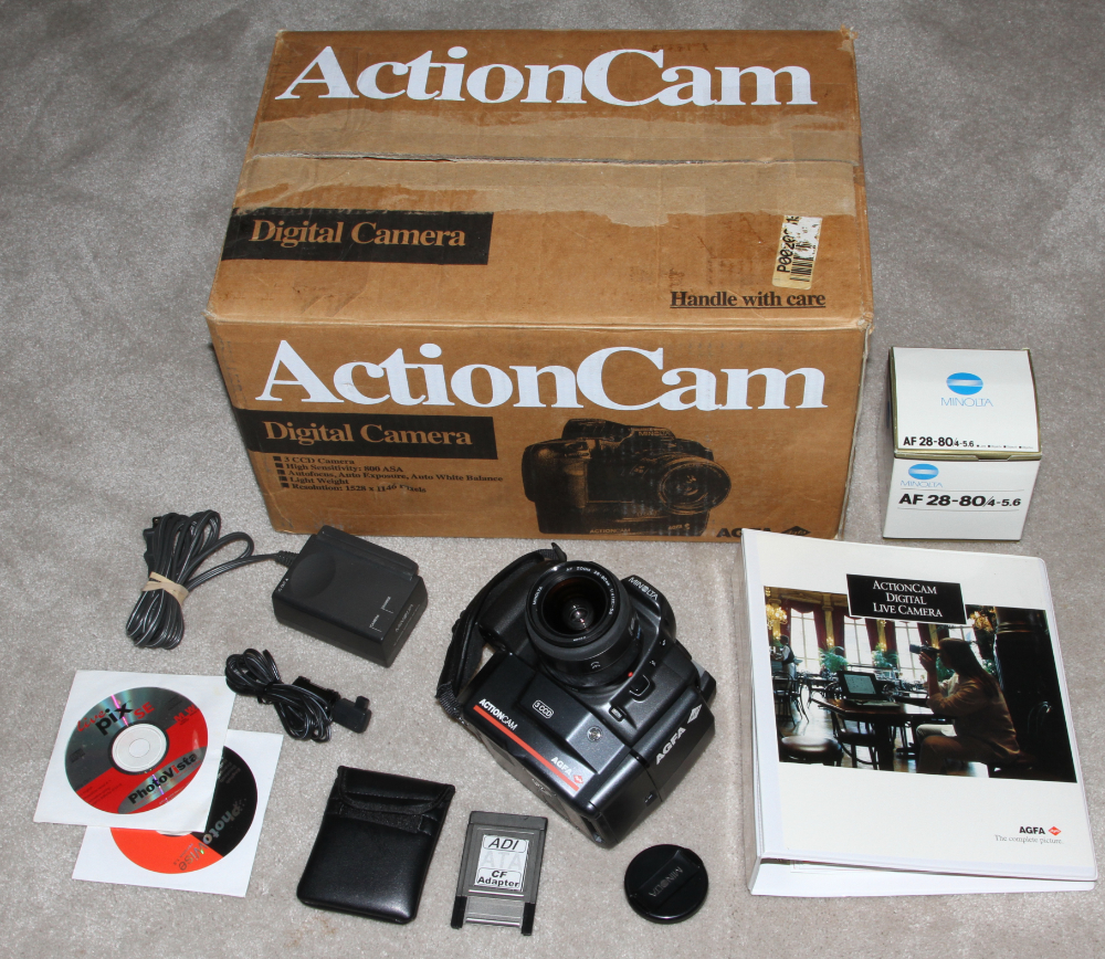 AGFA Actioncam digital camera kit