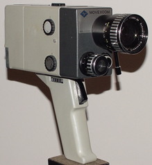 agfa 5155 movexoom vintage 8 mm movie camera 1964