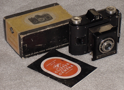 agfa clipper special vintage film camera 1939