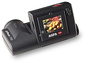 agfa ephoto 1280 digital camera monitor open 1997