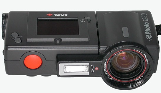 Agfa 1280 digital camera front view 1997