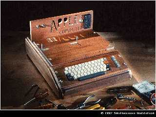 apple I first home computer 1977