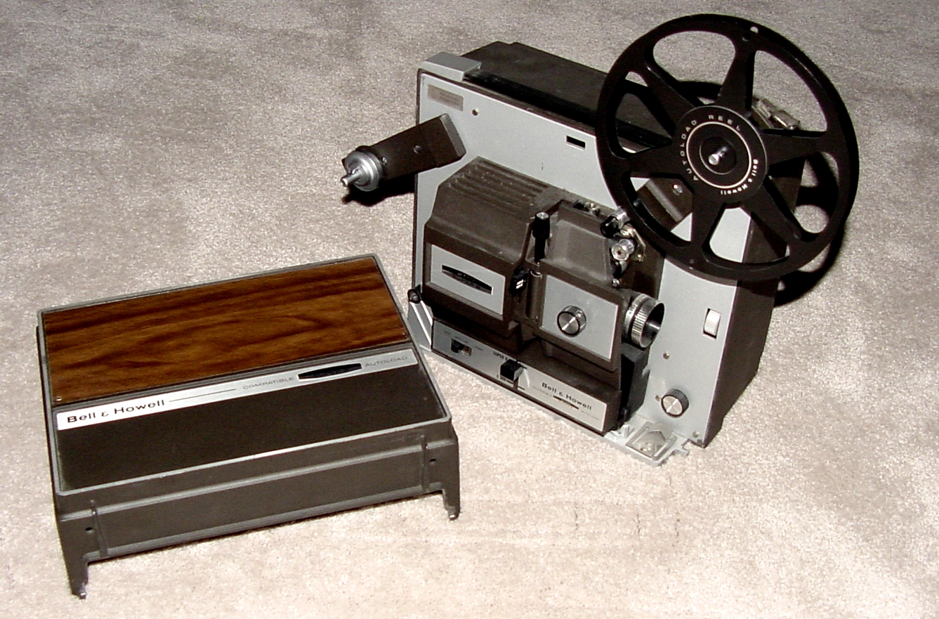 8mm home movie projector