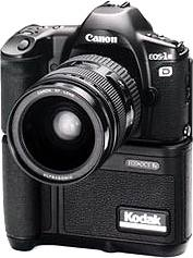 canon kodak eos dcs 1 dslr digital camera 1995