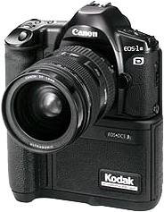 canon kodak eos dcs 3 based on canon eos-1 digitalcamera 1995
