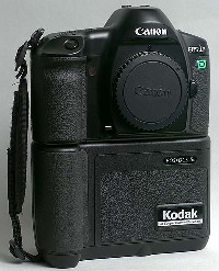 canon kodak eos dcs 5 dkigital camera 1995