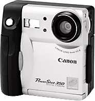 canon powershot 350 digital camera 1997
