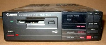canon rv-301 still video player 1988