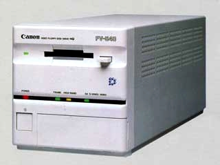 canon fv-540 still video player 1988