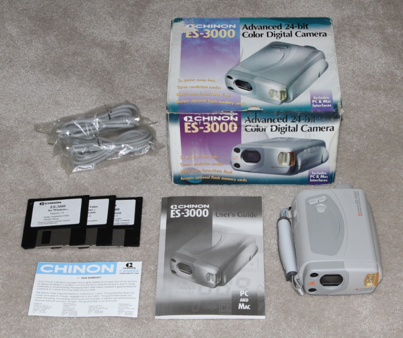 Chinon ES-3000 digital camera kit