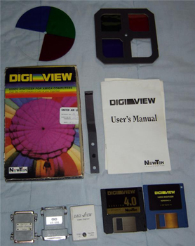 newtek digi-view video digitizer set 1986