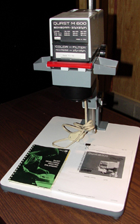 durst m600 amateur enlarger 1979