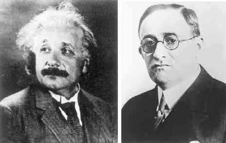 albert einstein and gustav bucky