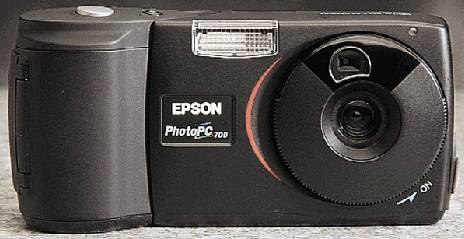 epson photopc 700, cp-600 vintage digital camera black 1998