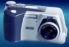 epson photopc 750z, 700z vintage digital camera 1998