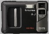 fuji dx-10, clip-it 80 vintage digital camera 1998