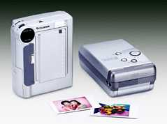 fuji in-printer camera vintage digital camera and printer 1998