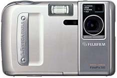fuji finepix 500, mx-500 vintage digital camera 1998