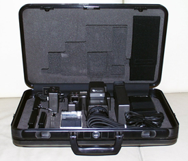 fujix es-1 still video camera kit 1985