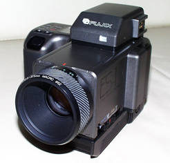 fujix es-1 still video camera front view 1985