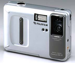 fuji dx-8, clip-it 50 vintage digital camera 1998