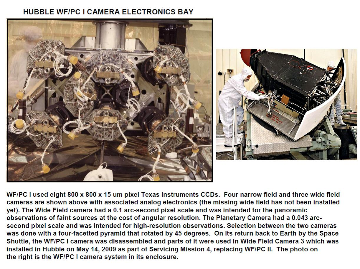 Janesikck: Hubble camera electronics bay