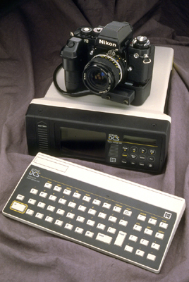kodak dcs-100 with keyboard 1990