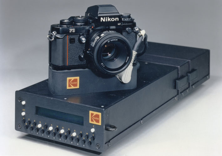 kodak hawkeye II tethered digital camera 1989