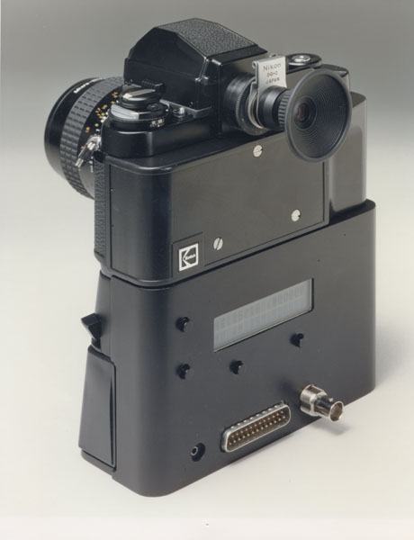 kodak hawkeye II digital camera rear 1989