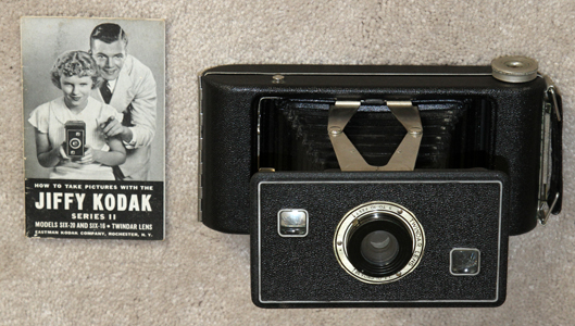 kodak jiffy six-20 series II vintage film camera 1937