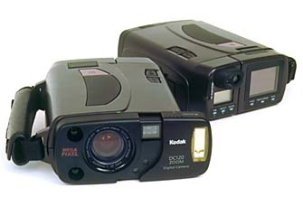 kodak dc-120 digital camera 1996