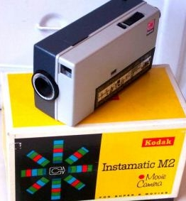 kodak instamatic me, vintage super 8 mm vintage film camera 1965