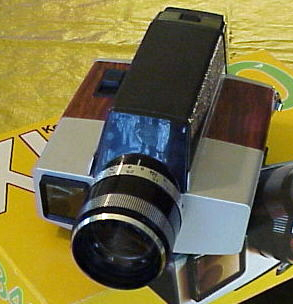 kodak xl 340 vintage amateur super 8 movie camera 1974