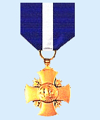 navy cross presented to frederick leeson bates, battle of midway 1942