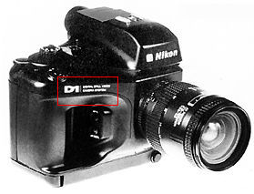 nikon d1prototype f dslr camera 1993