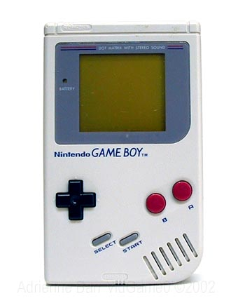 nintnedo dmg-01 game boy 1989