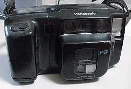 panasonic ag-es10 canon rc-470 still video camera 1988