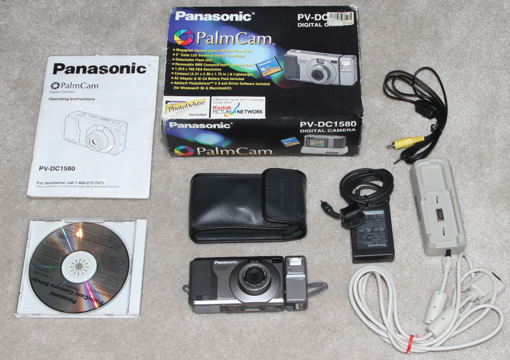 Panasonic PalmCam digital camera kit