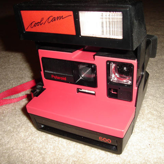 polaroid cool cam 600 instant camera 1988
