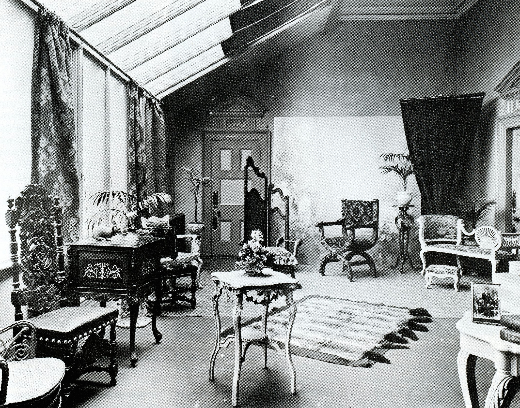 photographer's studio, 1850