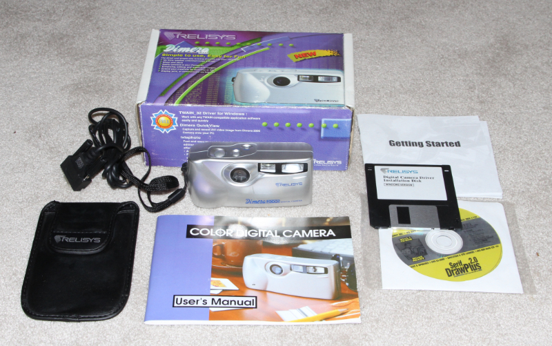Relisys Dimera 2000 digital camera kit