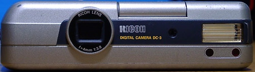 Ricoh DC-3 digital camera silver