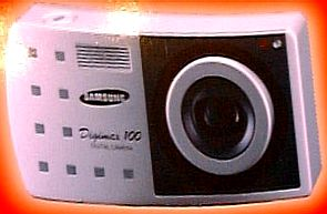 samsung digimax 100 vintage digital camera 1998