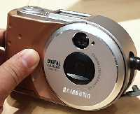 samsung sdc30, sdc33 digital camera bronze 1997