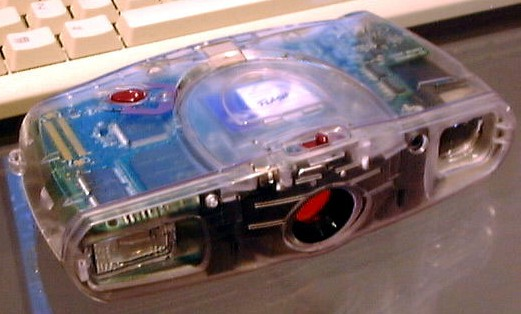 samsung digimax 30 transparent digital camera 1997