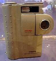 samsung sdc-55 pop-eye vintage digital camera 1998