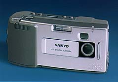 sanyo dsc-1, dsc-v1, vpc-g200ex digital camera 1997