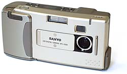 sanyo vpc-g210 vintage digital camera 1998