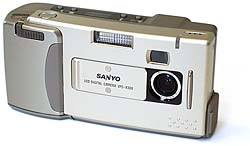 sanyo dsc-x1, vpc-x300ex digital camera 1997